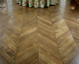 Chevron Oak Parquetry